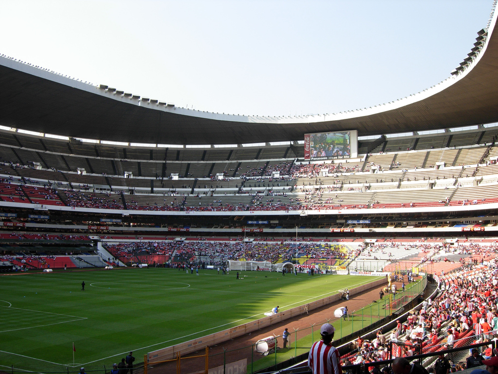 Aztekenstadion in Mexiko