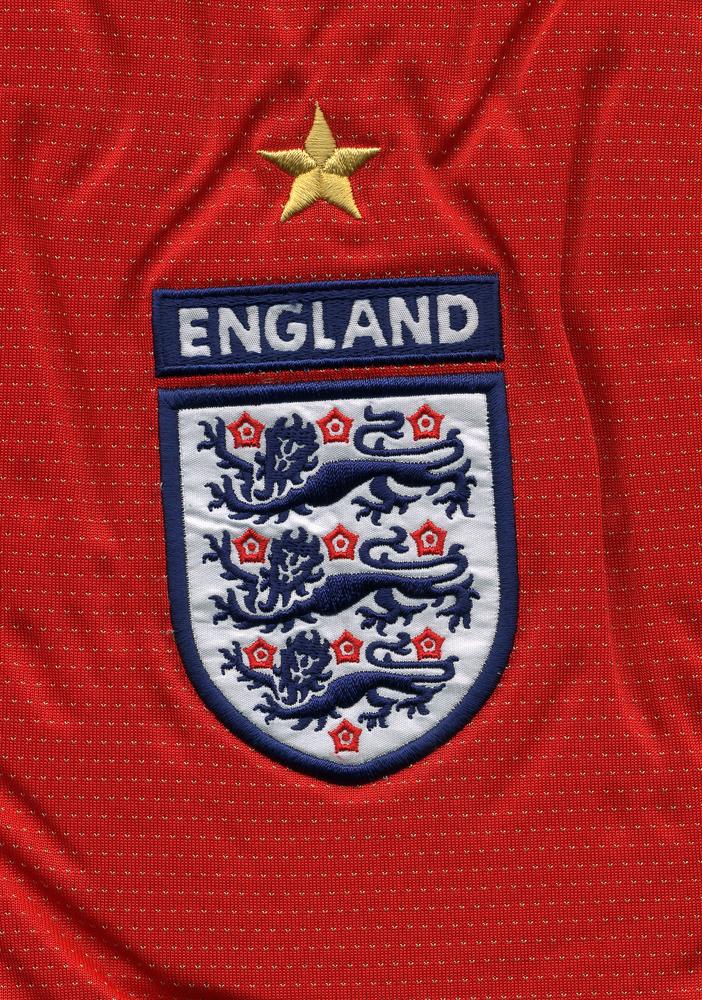 Ein WM-Stern, drei Löwen. England. Stephen Mulcahey / Shutterstock.com