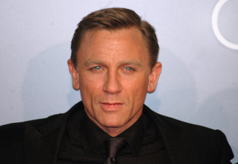 Porträt von Daniel Craig